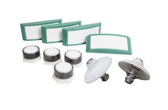 Toberas y placas de fluidificación