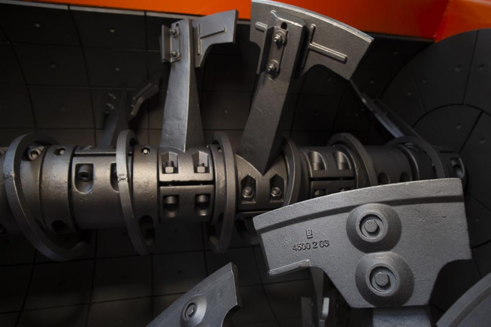 mezcladora doble eje